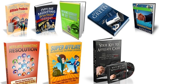 Product picture 8 Common Affiliate Package Ebook With MRR License